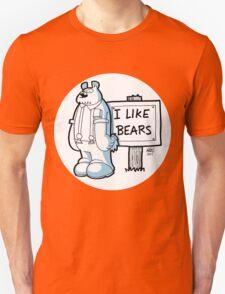 I Like Bears - White T-Shirt