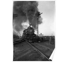 Pennsylvania Steam Engine 6538 Poster