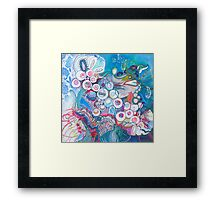 Aquatic Soul Dance Framed Print