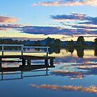Tweed River sunset by sarcalder