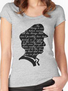 Captain Criefflock Women's Fitted Scoop T-Shirt