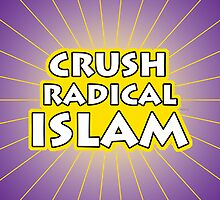Crush Radical Islam by morningdance