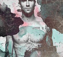 Adam Levine by Kaneloart