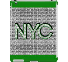 The Five Boroughs NYC iPad Case/Skin