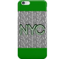 The Five Boroughs NYC iPhone Case/Skin