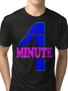 ㋡♥♫Hot Fabulous K-Pop Girl Group-4Minute Clothing & Stickers♪♥㋡ Tri-blend T-Shirt