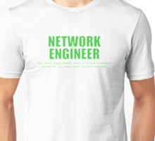 Network Engineer (Green) - Copy+Paste Unisex T-Shirt