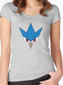Pokemon - Articuno Face Women's Fitted Scoop T-Shirt