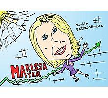 yahoo tumblr pdg marissa mayer webcomic Photographic Print