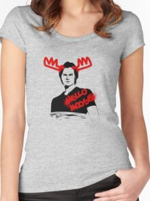 Hello Moose! Women's Fitted Scoop T-Shirt