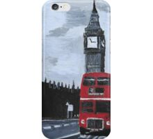 London Red Bus iPhone Case/Skin