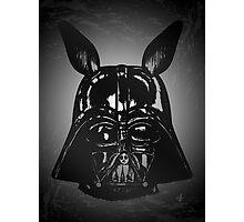 Dark Bunny Side Photographic Print