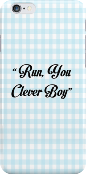 """""""Run, you clever boy"""" by eamesss"""