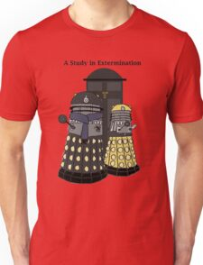A Study in Extermination Unisex T-Shirt