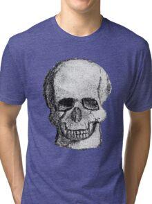 Skull no background Tri-blend T-Shirt