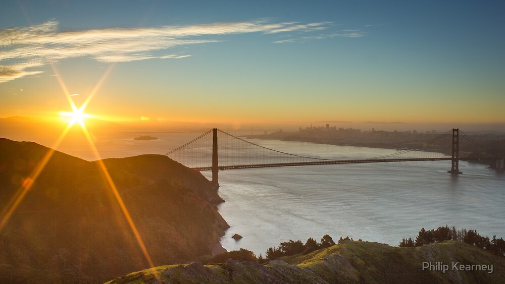 San Francisco Sunrise by Philip Kearney