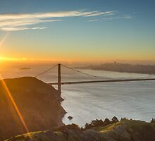San Francisco Sunrise by Philip Kearney