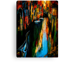 City Of The Shadow.. Canvas Print