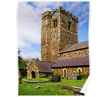 St Mary's Church Conway Poster
