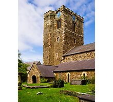 St Mary's Church Conway Photographic Print