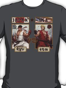 Street Fighter - Ryu vs Ken T-Shirt