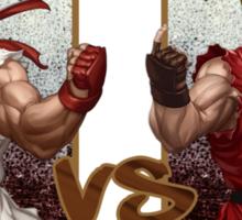 Street Fighter - Ryu vs Ken Sticker