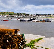 Conway Harbour North Wales by mlphoto