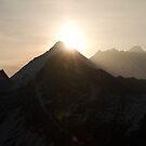 Sunrise over Mt Everest by Philip Alexander