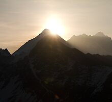 Sunrise over Mt Everest by Philip Alexander