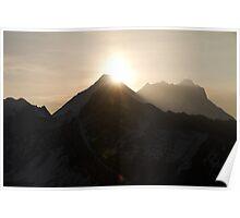 Sunrise over Mt Everest Poster