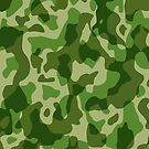 Camouflage Army Military Texture Pattern by BluedarkArt