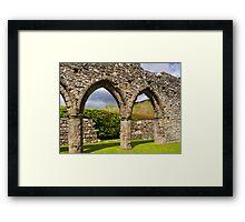 Cymer Abbey Snowdonia Framed Print