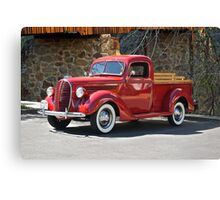 1939 Ford V8 Pick-Up Truck Canvas Print