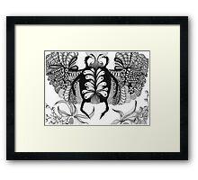 ScarabRising Framed Print