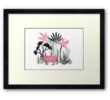 Mini Jungle Framed Print
