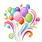 Balloons by SandraWidner