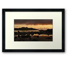 No Line on the Horizon... Director's Cut Framed Print