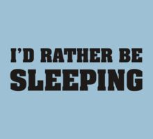 I'd Rather Be Sleeping by BrightDesign