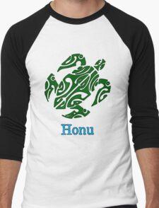 Abstract Green Hawaiian Sea Turtle T-Shirt