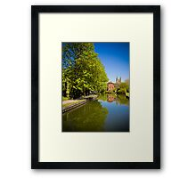 West Mills Newbury Framed Print