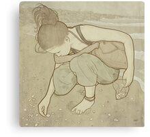 Seashells - Art Nouveau Canvas Print