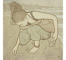 Seashells - Art Nouveau Photographic Print