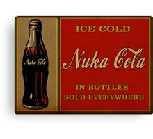 Fallout Nuka Cola Canvas Print