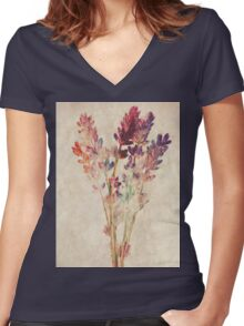 The One With The Herbs Women's Fitted V-Neck T-Shirt