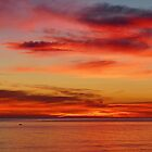 Seaford Sunset Adelaide by Les Haines