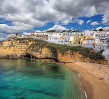 Carvoeiro Algarve Portugal by manateevoyager