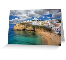 Carvoeiro Algarve Portugal Greeting Card