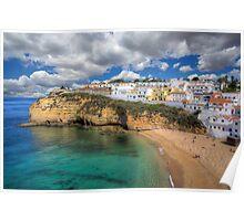 Carvoeiro Algarve Portugal Poster