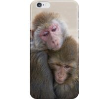 just hold me now iPhone Case/Skin