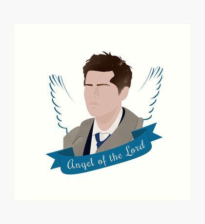 Angel of the Lord Art Print